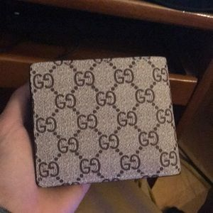 936ac3414695 Gucci Accessories | Make Offer Mens Tiger Print Wallet | Poshmark